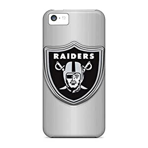 For Iphone 5C PC Phone Case Cover(oakland Raiders)