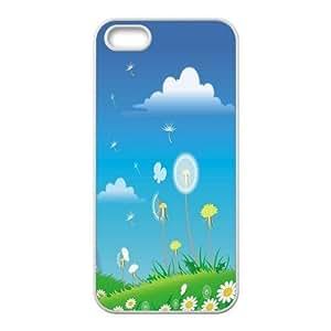 Custom Dandelion Back Cover Case for iphone5,5S JN5S-657