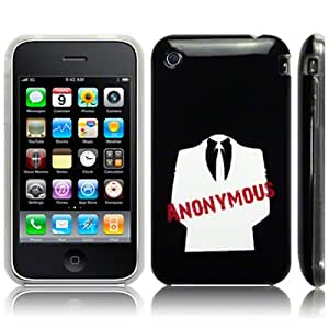 TPU Gel Case By Call Candy - Anonymous for Apple iPhone 3GS