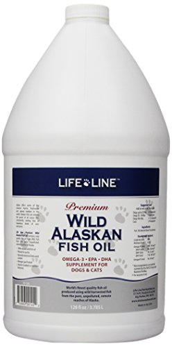 Life Line Wild Alaskan Fish Oil, 128-Ounce