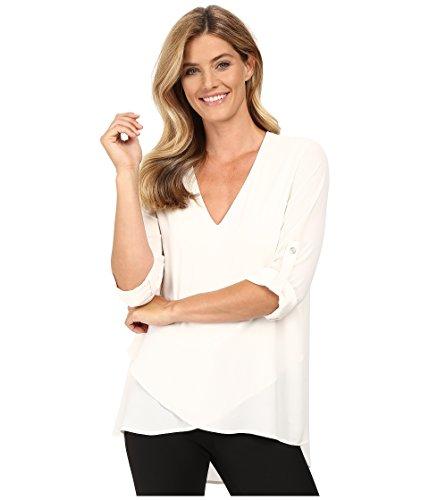 karen-kane-womens-v-neck-asymmetrical-hem-top-cream-shirt