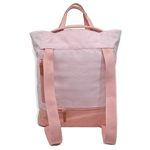 Amber & Ash Convertible Tote – Lightweight - Durable - Travel Friendly - Pink