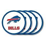 Duck House NFL Buffalo Bills Vinyl Coaster Set (Pack of 4)