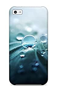 For Iphone 5c Tpu Phone Case Cover(drops)