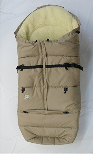 Kutnik Saco de abrigo universal baran para silla de paseo - Beige