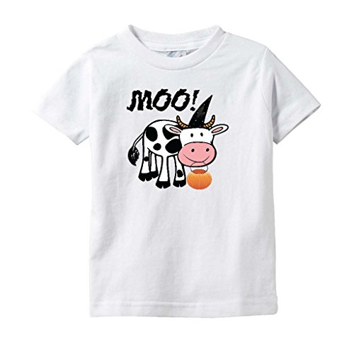 Cute Halloween Onesie/Bodysuit - Infant and Toddler Shirt with Cow Moo-Boo! -