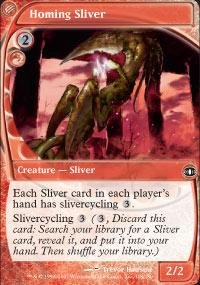 Magic: the Gathering - Homing Sliver - Future Sight