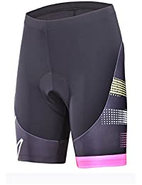 Womens Bike Shorts With 3D Gel Padded,Cycling Women's Shorts