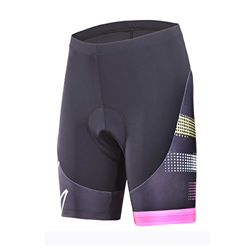 (Limited time) Beroy Cycling Women's Short, Bike Shorts with 3D Gel Padded, Medium, Pink