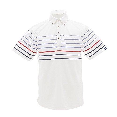 PG(PG) 半袖ポロシャツ PGVR1708-WHT