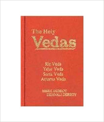 ``TOP`` The Holy Vedas: Rig Veda, Yajur Veda, Sama Veda And Atharva Veda. Nervous clean Oracle southern great