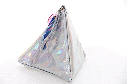 Lb-86 Cilindro Ologramma Pyramide Kult Pastello Goth Borsa Lolita Japan Harajuku Tasche