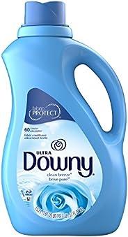 Downy Suavizante de telas Ultra Liquid Clean Breeze, 1.53 L, 60 cargas