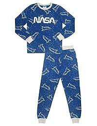 NASA Boy's 2 Piece Long Sleeve Pajama Set