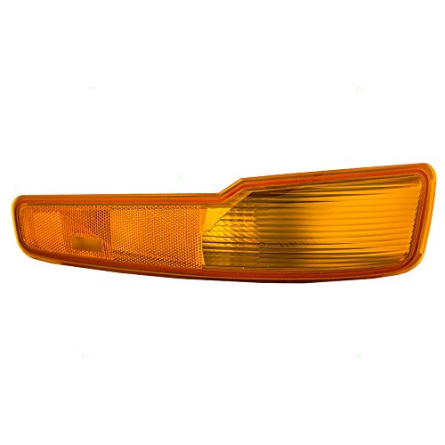 Passengers Park Signal Side Marker Light Lamp Unit Replacement for Buick LeSabre 5977564