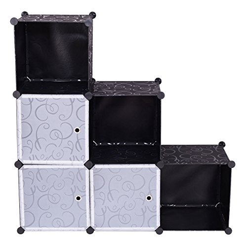 Honesty 3 Tier 6 Cubic Bookcase Storage Cabinet Shelf Closet Organizer Home Furniture
