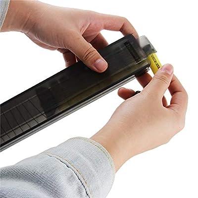 WORKER 15-Darts Talon Stefan Magazine Short Darts Clip for Nerf Modify Toy Color Black: Toys & Games
