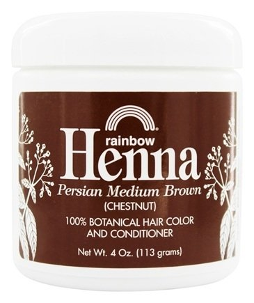 Rainbow Henna Medium Brown