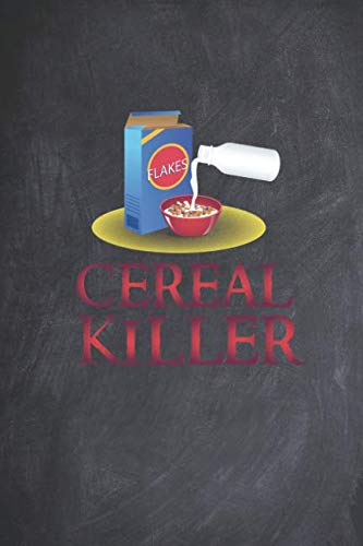 Cereal Killer - Funny Humor Halloween Journal
