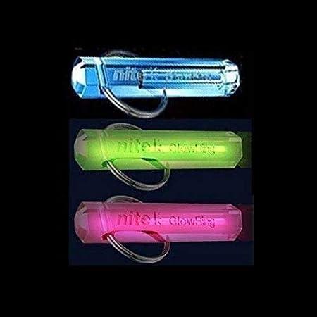 Nite Tritium Gadget Keyring Glowring Glow Stick Cat Pet