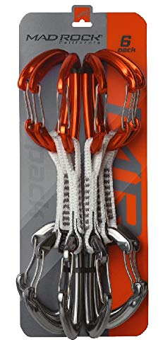 Mad Rock Concorde Quickdraw Set Orange / Silver 6 Pack