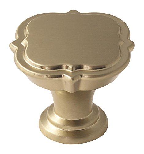 Amerock BP36628BBZ Grace Revitalize Cabinet Knob, 1-3/8 in (35 mm) Diameter, Golden Champagne