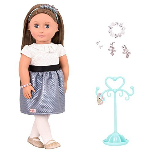 Our Generation Jewelry Doll - Aliane