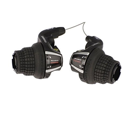 Shimano RevoShift SL-RS35 Friction 3x7 Speed Shift Lever Set Right/Left 21 Speed Twist Shifter -