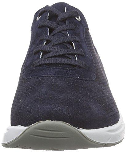 Semler Ria, Zapatos de Cordones Brogue para Mujer Blau (080 - midnightblue)