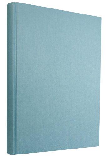 Semikolon Grand Classic Letter/A4 Size Bound Linen Blank Book, Ciel Sky  Blue (10409)