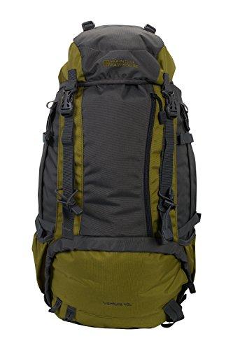 Mountain Warehouse Ventura 40L Backpack – Travel Bag Best Hiking Green