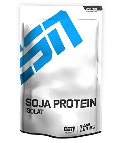 ESN Soja Protein Isolat, Raw Series, Natural, 1er Pack (1 x 1000g Beutel)