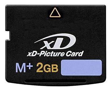 Amazon.com: 2 GB Tarjeta de memoria XD Picture tipo M + para ...