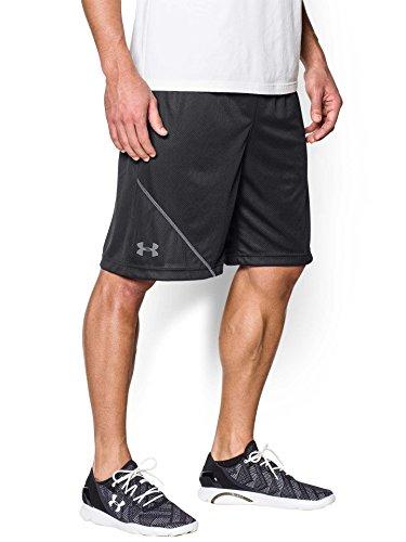 Under Armour Men's UA Quarter Shorts, Black/Steel, 3XLarge