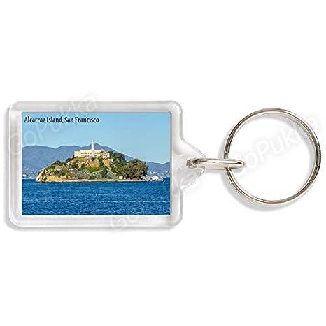 Amazon.com: Alcatraz Island San Francisco USA - Llavero de ...