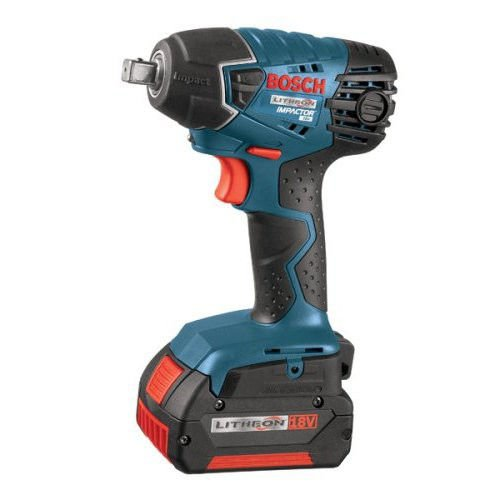 Bosch 24618-01-RT 18V Cordless Lithium-Ion 1/2 in. Impact Wrench (Certified Refurbished)