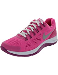 Nike Lunarglide 4 Dersert Pink Rave Pink Black Reflect Silver GS Kids Running (GS)