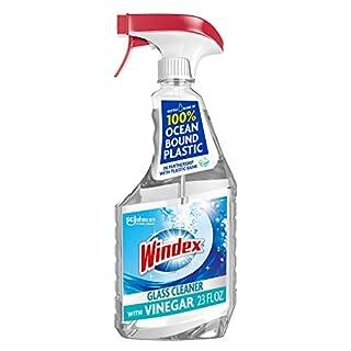 Windex Vinegar Glass and Window Cleaner Spray Bottle, 23 fl oz