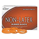 Alliance Non-Latex Rubber Bands Sz. 64 Orange 3 1/2 x 1/4 380 Bands/1lb Box