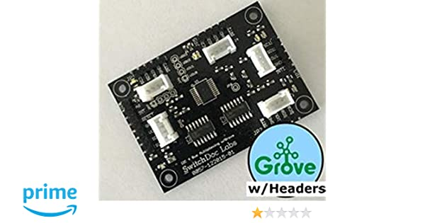 Amazon com: Grove/Pin Headers I2C 4 Channel Mux Extender/Expander