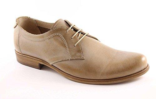 NERO GIARDINI 2550 farro scarpe uomo derby liscio eleganti sportive