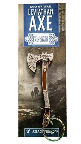 Kratos Leviathan Axe Bottle Opener Keychain