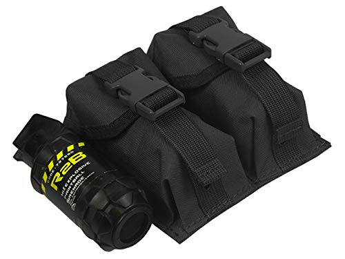 tactic.world M.O.L.L.E Pouch Double Under Two Grenades. Model -