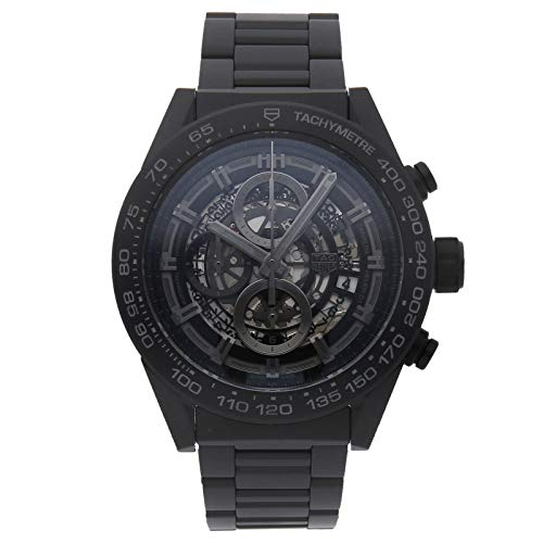 Tag Heuer Carrera Mechanical (Automatic) Black Dial Mens Watch CAR2A90.FT6071 (Certified Pre-Owned)