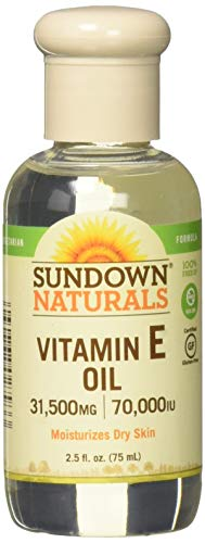 - Sundown Naturals Vitamin E Oil 2.50 oz