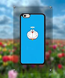 Cartoon Doraemon Funda Case For Iphone 6s, Personalized + Cool Lovely Design Drop Proof Tough Hard Compatible with Iphone 6 / 6s [4.7 inch]