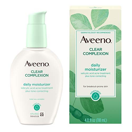 Aveeno Active Naturals Clear Complexion Oil-Free Daily Moisturizer (Aveeno Skin Brightening Daily Treatment Spf 15)