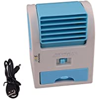 MarketBoss Handheld USB Portable Summer Bladeless Fan Air Conditioning Conditioner Water Cool Cooler For Outdoor Desktop