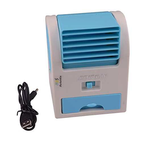 MarketBoss Handheld USB Portable Summer Bladeless Fan Air Conditioning Conditioner Water Cool Cooler For Outdoor Desktop by MarketBoss