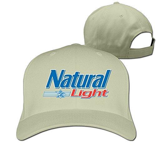 Logo Natural - Urban Captain Apparel Adult Natural Light Logo Adjustable Baseball Cap Strapback Hat Natural